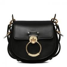 chloé tess leather bag