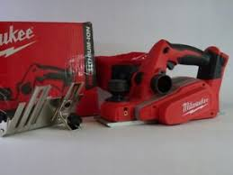 Details About Milwaukee M18bp 0 18v Li Ion 82mm Cordless Planer With Dust Bag Guide