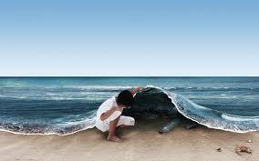 Risultati immagini per acqua contaminata dalla plastica