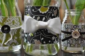 How To Decorate A Glass Jar Currently Using These Newly Decorated Jars Vases Living DMA 68
