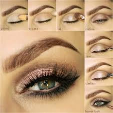 neutral bronze makeup step by step tutorial