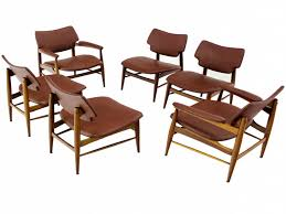 Mid Century Modern Dining Chairs Luxury Set Of Four Mid Century Danish  Modern Teak Dining Chairs At 1stdibs