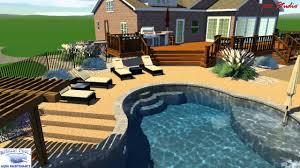 3d swimming pool design software. Andrews Pool Studio - Merillat Pools 3D Swimming Design Software YouTube 3d N