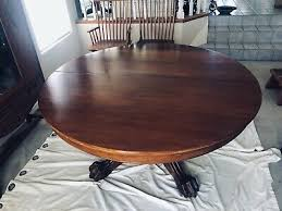 post 1950 oval dining table vatican