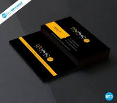 10 Free Business Cards 10 Free Psd Business Card Templates More Graphics Free