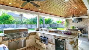 build outdoor bar islnd ing n stools grill area diy table ideas