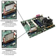 ide cards addonics adebide2cf embedded dual ide compact flash adapter