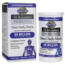 garden of lifedr formulated probiotics once daily men s