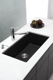 black undermount sink. Exellent Undermount Undermount Kitchen Sinks Black Sink  Galley With Sink K