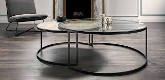 prato round coffee tables nick scali furniture nested coffee table