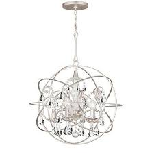 silver orb chandelier orb crystal chandelier silver large 30h x 28 diameter 7 brushed silver orb silver orb chandelier