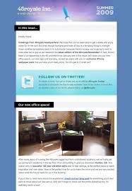 formatos de boletines informativos ideas y ejemplos para crear hacer newsletters y boletines