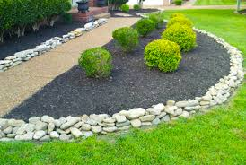 Lovely Decorative Rock Landscaping Ideas Indicates Inexpensive Article