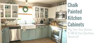 chalk paint on kitchen cabinets durability beautiful creative decoration how durable painted
