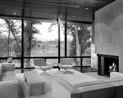 Futuristic Living Room Modern Luxury Glass House Decorating Interior Ideas Modern Living