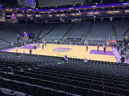 Golden 1 Center Basketball Seating Chart Golden 1 Center View From Section 119 Vivid Seats