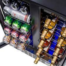 58 can wine and beverage cooler fridge