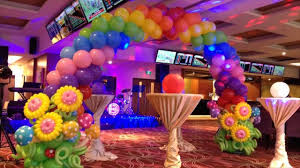 Decorating With Balloons Kids Birthday Party Balloon Decorations Youtube