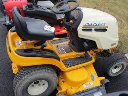 cub cadet lt1024 hydrostatic garden tractor 50 deck no
