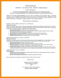 How To Write A Summary For A Resume Examples – Foodcity.me