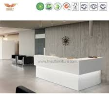 office counter desk. Modern Office Reception Desk Design Curved Counter Table
