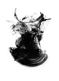 abstract art black and white contemporary art print by paul maguire rh notonthehighstreet com black and white abstract canvas black and white abstract