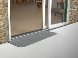 patio door threshold home design ideas and pictures