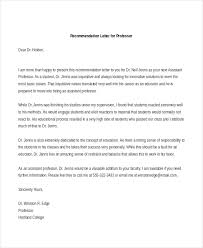 Example Of Reference Letter Mesmerizing Sample Recommendation Letter Format 44 Free Documents In PDF Doc