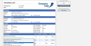 Sample Packing Slip Form 023 Free Packing Slip Template Ideas Sensational Download