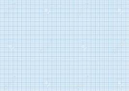 One Millimeter Graph Paper Cyan Color On White A4 Size Horizontal