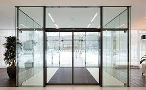 automatic sliding doors and curved