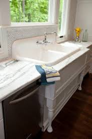 enameled cast iron farmhouse sink. Vintage Cast Iron Sink Antique Kitchen Enameled Have Access To Like This So Would Look Really Good Farmhouse