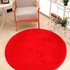 top red round rug v0003084 new fashion pure color rug diameter round floor carpet colored modern vast red round rug