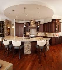Dark Wood Floors In Kitchen Dark Wood Floor Decor Kitchen Traditional With Hand Scraped Wood