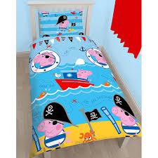 official peppa pig gee bedding duvet cover sets room decor boys
