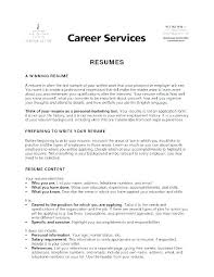 Objective For Resume In Retail