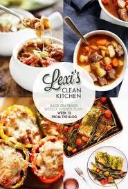 clean kitchen: lexis weekly dinner plan week