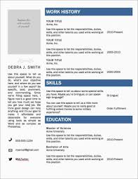 Resume Templates For Word Beautiful Free Microsoft Of Where Are The