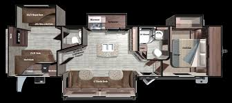 Incredible 2 Bedroom Travel Trailer Floor Plans Also Ideas Gallery With  Large
