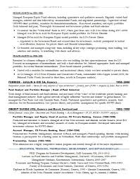 Sample Resume Investment Banking 20 Investment Banking Internship Resume  Objective Inside Sample
