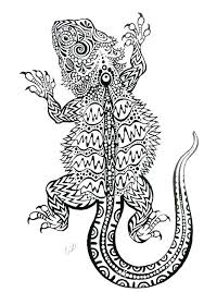 Cool Dragon Coloring Pages Dragon Coloring Pages For Adults Bearded
