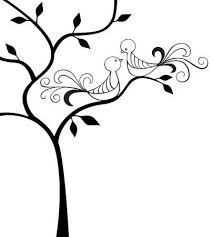 two love bird silhouette. Plain Silhouette Silhouette Of Tree With Two Love Birds Royalty Free Cliparts Vectors And  Stock Illustration Image 8667245 To Bird