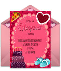 How To Make A Sleepover Invitation Free Sleepover Party Online Invitations Punchbowl