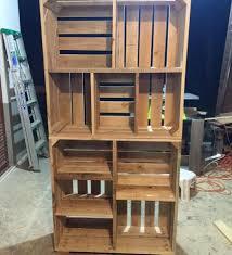 pallet storage shelves. adorable pallets wood crate shelves pallet furniture storage a