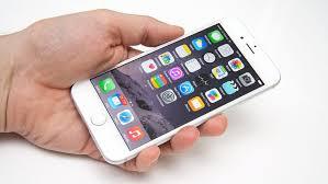 skjerm iphone 6 strrelse