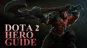 dota 2 hero guides axe youtube