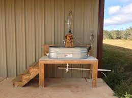diy dog washing station best grooming salon images on dog accessories diy tile dog wash station