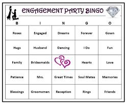 Wedding Bingo Words Engagement Party Bingo Game 60 Cards Wedding Themed Bingo Words Very Fun Print And Play