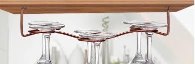 vintage wine glass rack hanging cup holder bar goblet hanging rack for 6 glasses