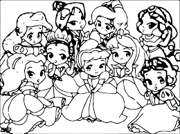 Coloring Pages Baby Disney At Getdrawingscom Free For Personal